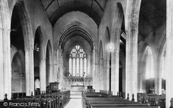 Cardiff, St John's Church, Nave East 1893