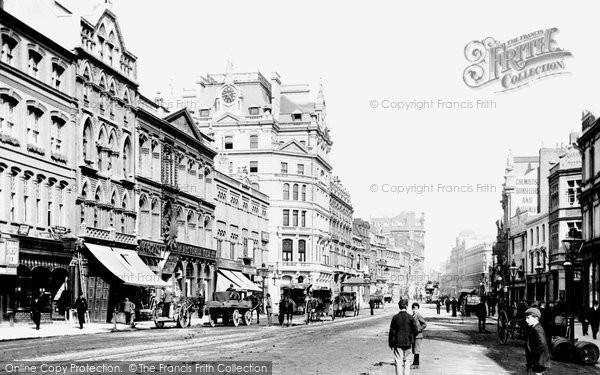 Photo of Cardiff, St Mary Street 1893