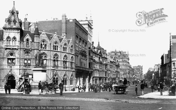 Photo of Cardiff, St Mary Street 1896