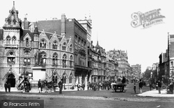 Cardiff, St Mary Street 1896