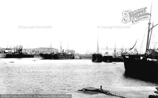 Photo of Cardiff, The Docks 1893