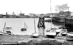 Cardiff, The Docks c.1960