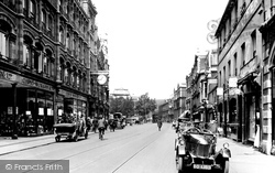 The Hayes Looking Towards Working Street 1925, Cardiff