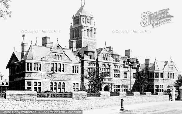 Photo of Cardiff, The Infirmary 1893