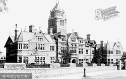 Cardiff, The Infirmary 1893