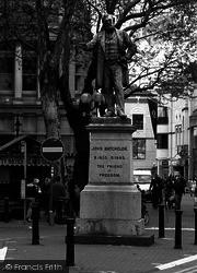 Cardiff, The John Batchelor Statue 2004