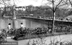 Cardiff, The Promenade, Roath Park c.1955