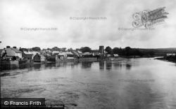 Cardigan, From Bridge c.1931