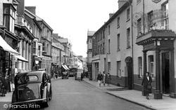 Cardigan, High Street 1956