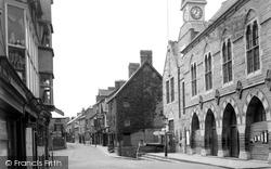 Cardigan, High Street c.1950