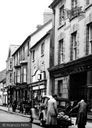 Cardigan, High Street c.1955