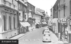 Cardigan, High Street c.1965