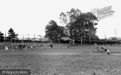 Cardigan, King George's Playing Fields c.1955