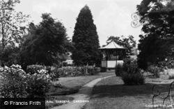 Cardigan, Memorial Gardens c.1950