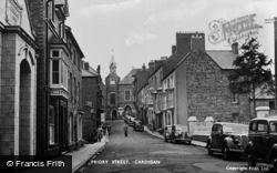 Cardigan, Priory Street 1956