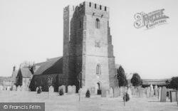 Cardigan, St Mary's Church c.1965