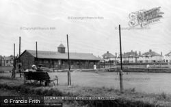 Cardigan, Tennis Courts, King George's Playing Fields c.1955