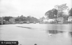 Cardigan, The Bridge c.1930