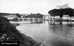 Cardigan, The Bridge c.1931