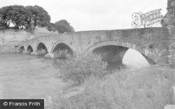 Cardigan, The Bridge c.1950