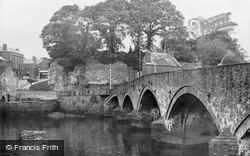 Cardigan, The Bridge c.1955