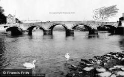 Cardigan, The Bridge c.1965