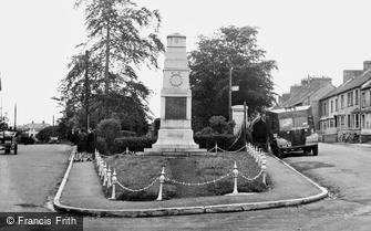 Cardigan, the Cenotaph 1956