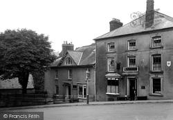 Cardigan, The Grosvenor Hotel c.1930