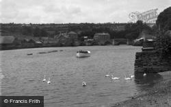 The River Teifi c.1950, Cardigan