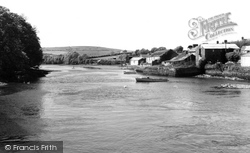 Cardigan, The River Teifi c.1965