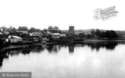 Cardigan, The Village c.1955