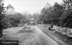 Victoria Gardens c.1931, Cardigan