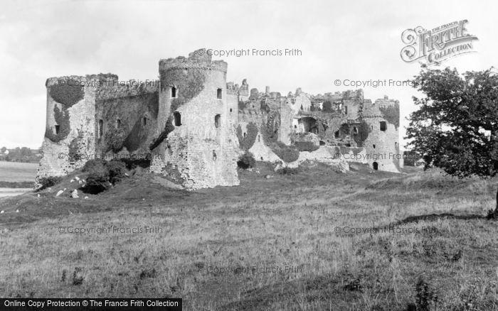 Photo of Carew, Castle 1890