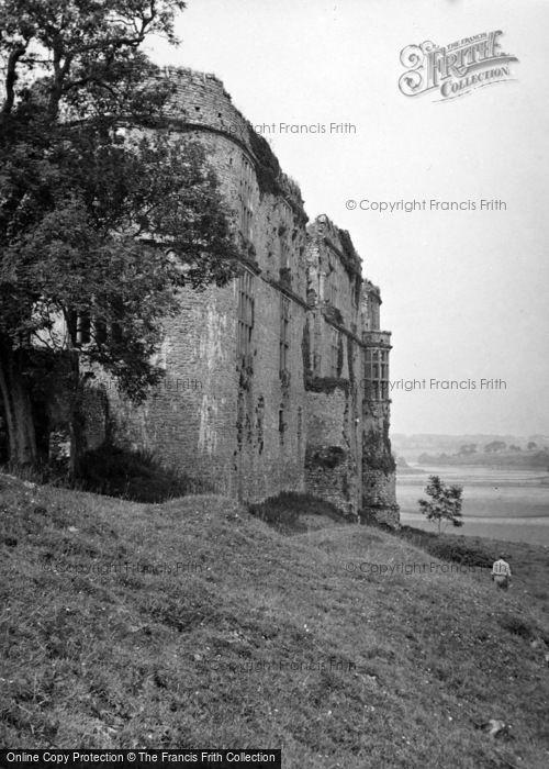 Photo of Carew, Castle 1953