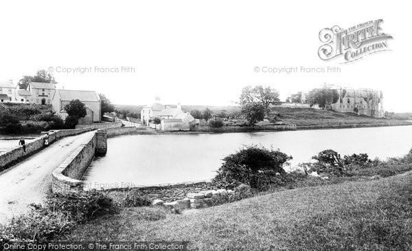 Photo of Carew, Castle And Bridge 1890