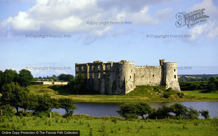 Photo of Carew, Castle And Carew River c.1995