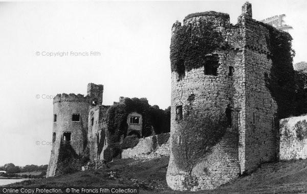 Photo of Carew, Castle Bastion 1890