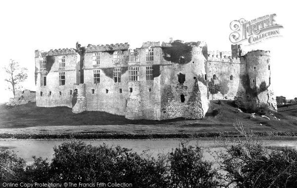 Photo of Carew, Castle From North West 1893