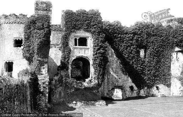 Photo of Carew, Castle Interior 1890