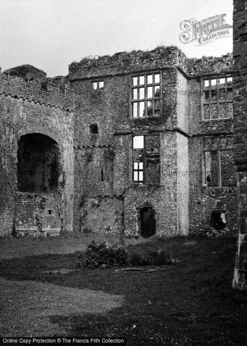 Photo of Carew, Castle, The North Range 1953
