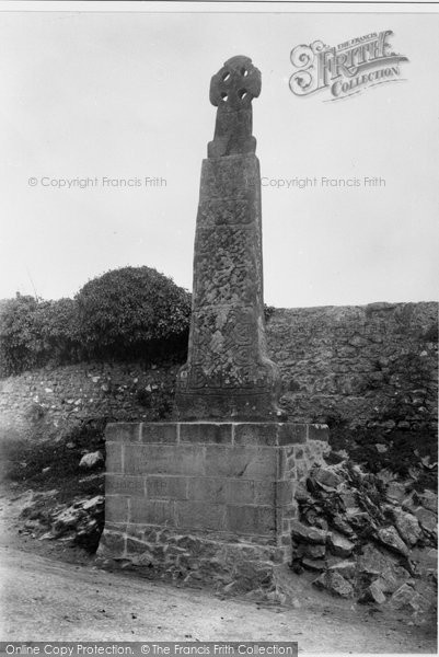 Photo of Carew, The Ancient Cross 1893