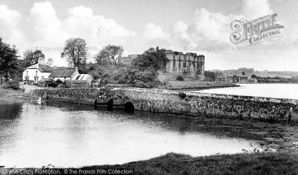 Carew, the Bridge and Castle c1960