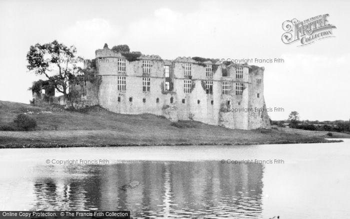 Photo of Carew, The Castle c.1955