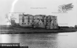 The Castle c.1960, Carew