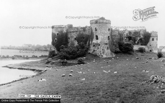 Photo of Carew, The Castle c.1960