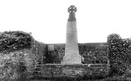 Carew, the Celtic Cross c1960