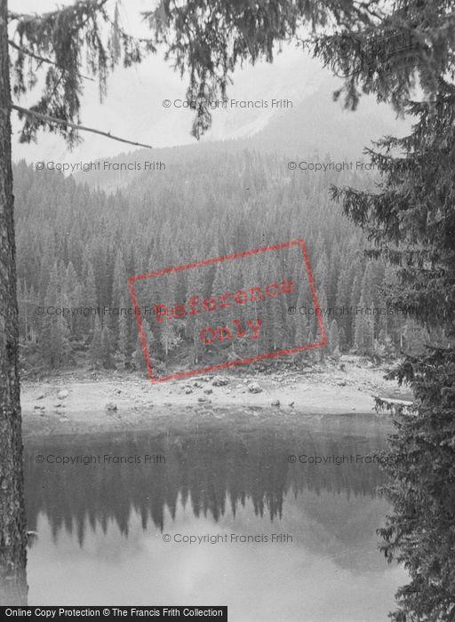 Photo of Carezza, The Green Lake 1938