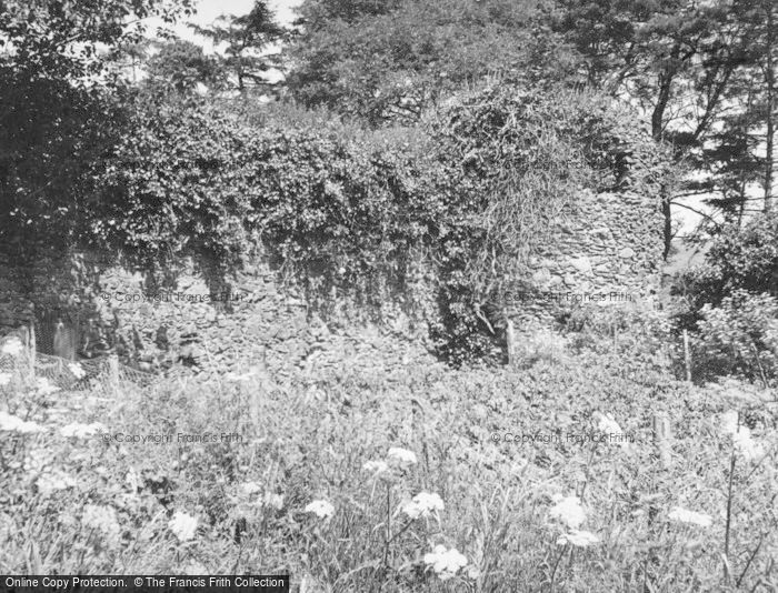 Photo of Carfrae Castle, Remains Of Bastle 1955