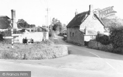 Carhampton, Blue Anchor Road c.1960