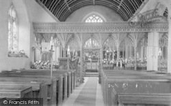 Carhampton, Church Screen 1903